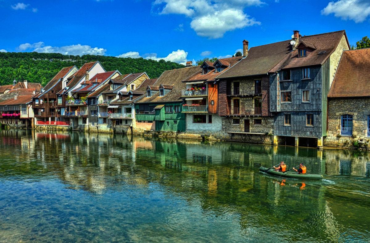 Ornans dans le Doubs, Bourgogne-France-Comté