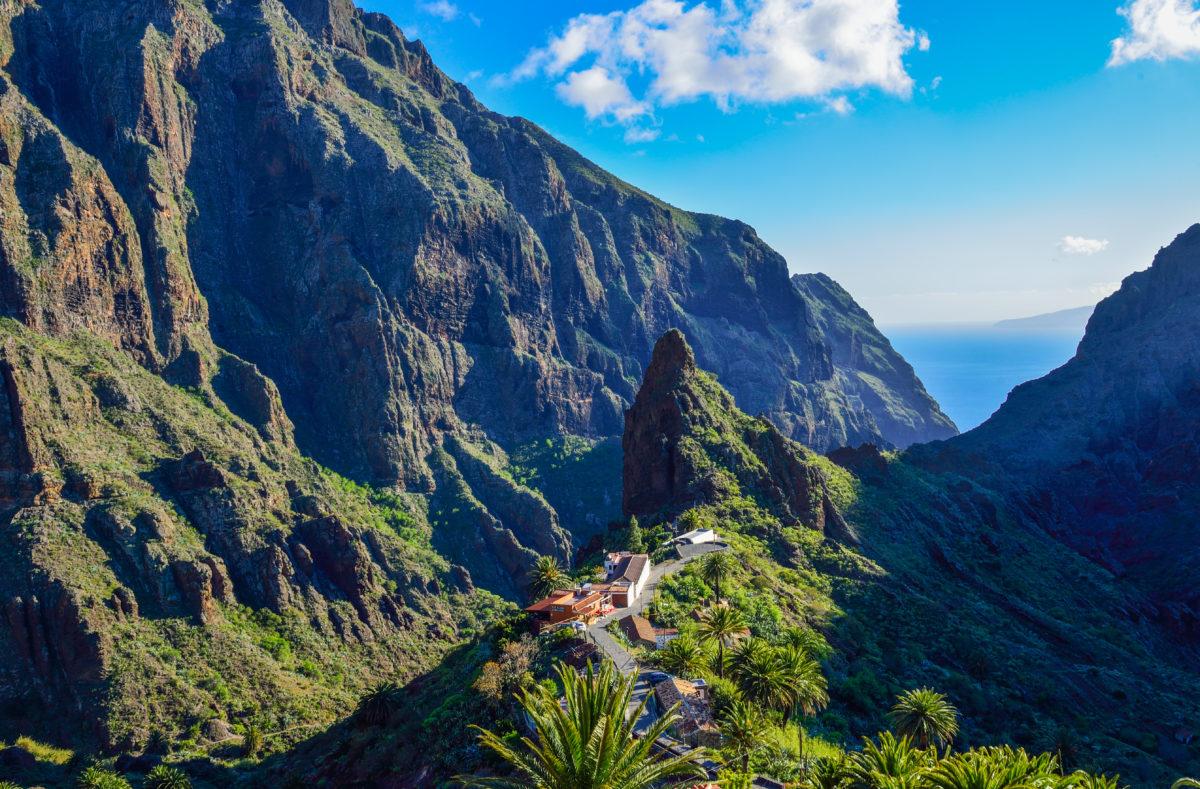 Village traditionnel de Masca dans les montagnes de Tenerife