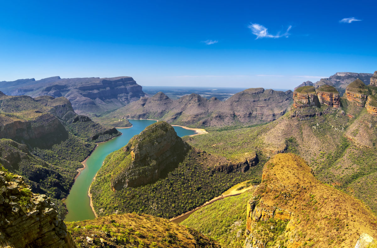 Route Panorama, Blyde River Canyon et Les Trois Rondavels