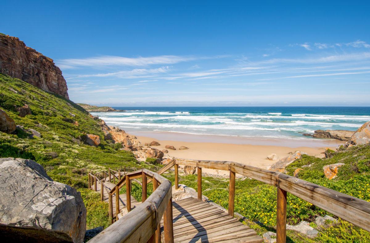 Robberg, route des jardins en Afrique du Sud
