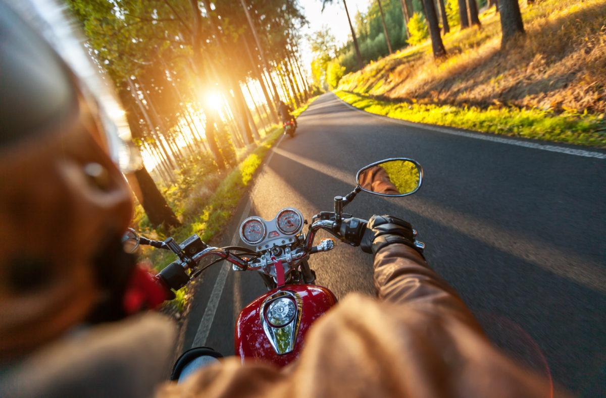 Road trip à moto en France