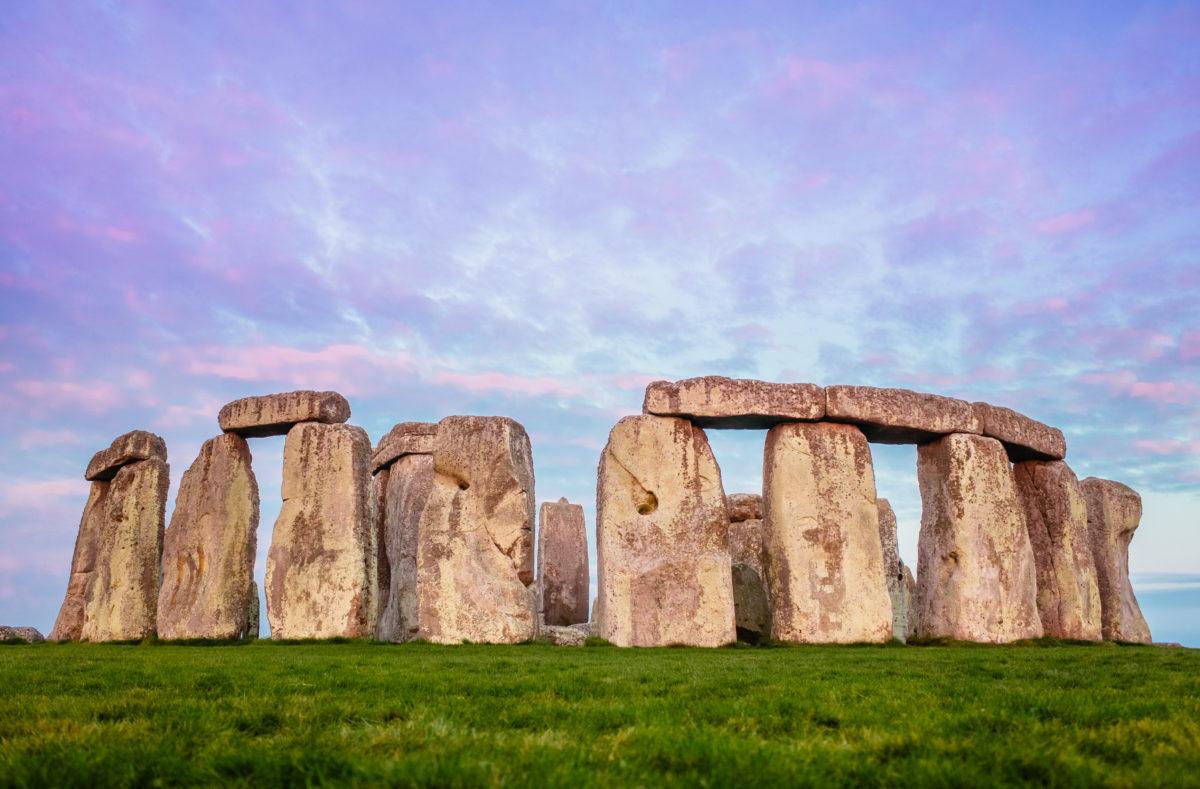 Site de Stonehenge Angleterre